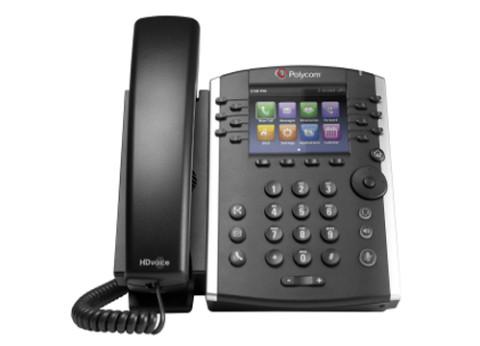 טלפון שולחני Polycom VVX 410