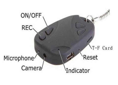 מצלמת אבטחה נסתרת שלט