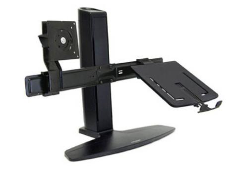 זרוע משולבת למסך ומחשב נייד