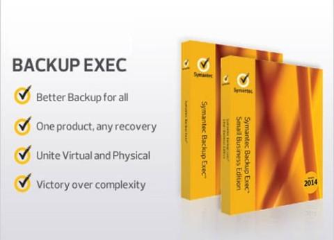 גיבוי מחשב Backup Exec