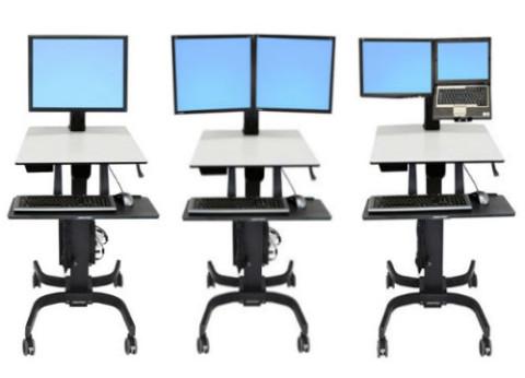 שולחן מחשב נייד עמידה וישיבה