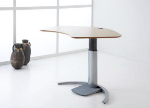 שולחן מתכוונן עמידה ישיבה חשמלי למחשב