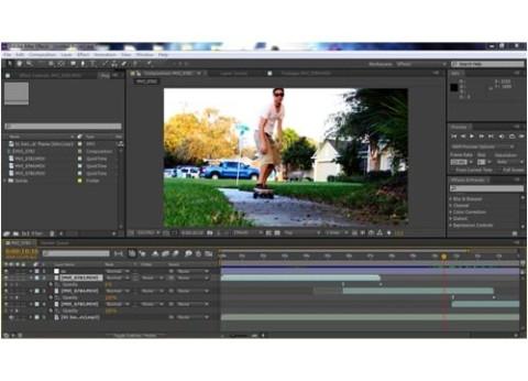 תוכנה לעריכת וידיאו After Effects