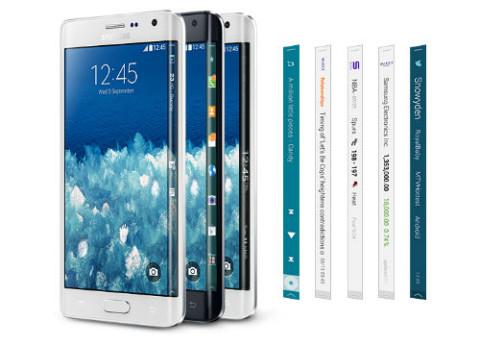 סמסונג גלקסי נוט אדג' Galaxy Note Edge