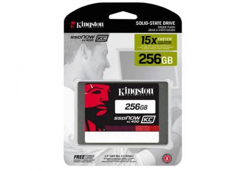 כונן קשיח פנימי קינגסטון Kingston KC400 SSD 256GB