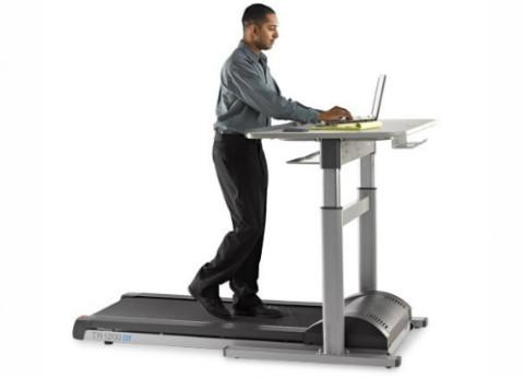 הליכון שולחן עבודה מתכוונן חשמלי