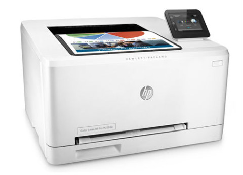 מדפסת לייזר צבעונית HP Color LaserJet Pro M252dw