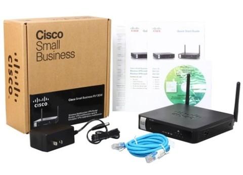 נתב סיסקו אלחוטי פיירוול Cisco RV130W Wireless VPN