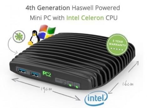 מחשב זעיר תעשייתי מוקשח CompuLab Intense PC2