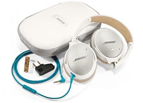 אוזניות מנטרלות רעשים Bose QC25 גרסת NFL