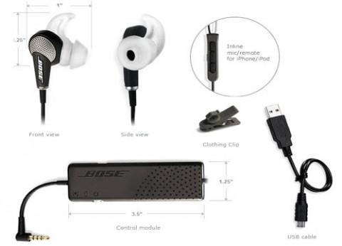 אוזניות בוס אקוסטיות חוסמות רעשים QuietComfort 20