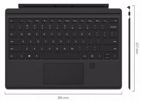 מקלדת לטאבלט סרפס פרו Type Cover Surface Pro 4