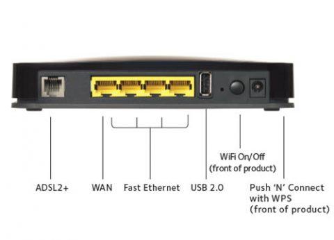 נתב נטגיר DGN2200 אלחוטי משולב מודם DSL