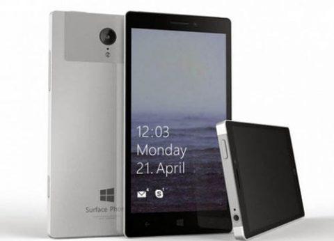 סמארטפון מיקרוסופט סרפס Microsoft Surface Phone