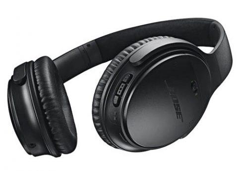 אוזניות אלחוטיות עם ביטול רעשים בוס Bose QC35