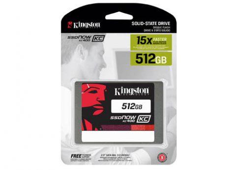 כונן קשיח פנימי קינגסטון Kingston KC400 SSD 512GB