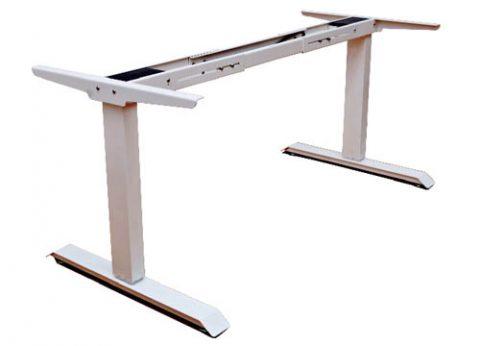 שולחן מחשב חשמלי ארגונומי ישיבה עמידה