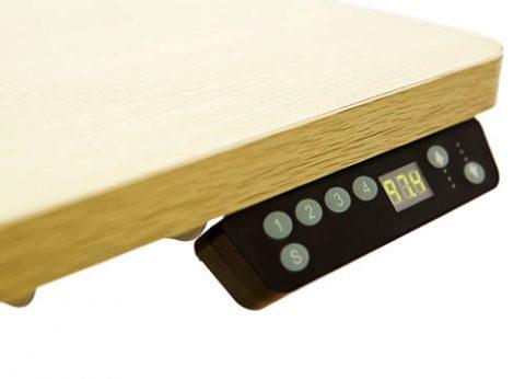 שולחן מחשב חשמלי מתכוונן כפול למשרד