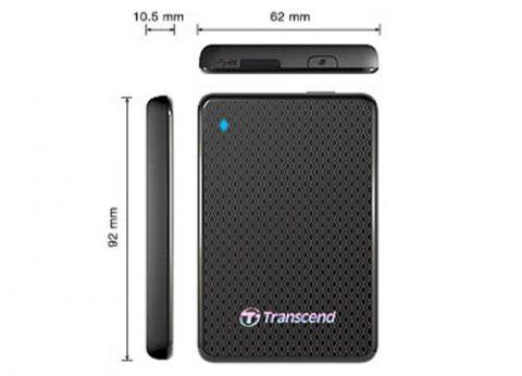 כונן קשיח חיצוני נייד Transcend ESD400 SSD 1TB