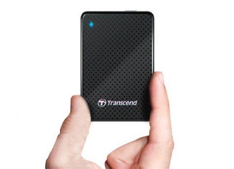 כונן קשיח חיצוני נייד Transcend ESD400 SSD 512GB