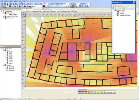 מתכנן תדרי רדיו HP RF Planner