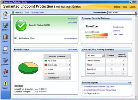 אנטי וירוס Endpoint Protection