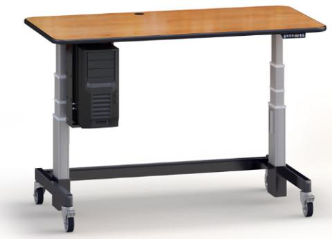 שולחן מחשב מתכוונן חשמלי | עמדת עבודה עמידה ישיבה