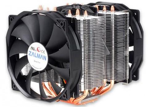 מאוורר זלמן כפול למעבד Zalman Dual Fan CNPS14X