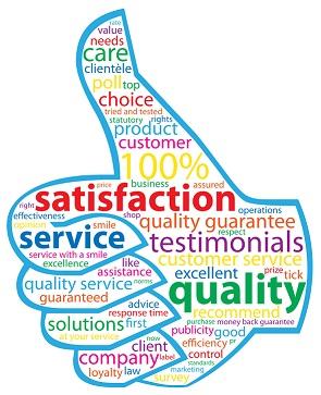תוצאות סקר שביעות רצון לקוחות