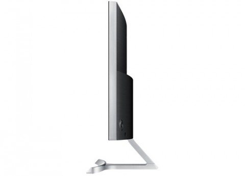 מסך מחשב קעור