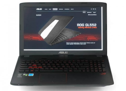 מחשב נייד לגיימינג אסוס ASUS ROG GL552JX