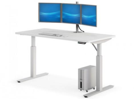 שולחן עמידה ישיבה ארגונומי עם גובה מתכוונן