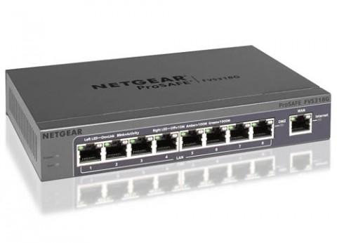 פיירוול נטגיר NetGear VPN Firewall FVS318N