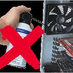 מטרו וואק - מפוח אוויר חשמלי / שואב אבק לניקוי המחשב